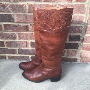 Nurture - Jazelle Tall Leather Boots - 9 1/2 M